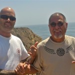 Sifu Mike and Sigung Richard on the West Coast