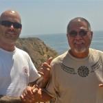 Sifu Mike and Sigung Richard on the West Coast