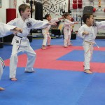 "The intensity of our ""Young Juniors""  class is blatantly obvious!"