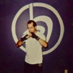 Mike Peterson in 2002... his first year of Krav Maga training
